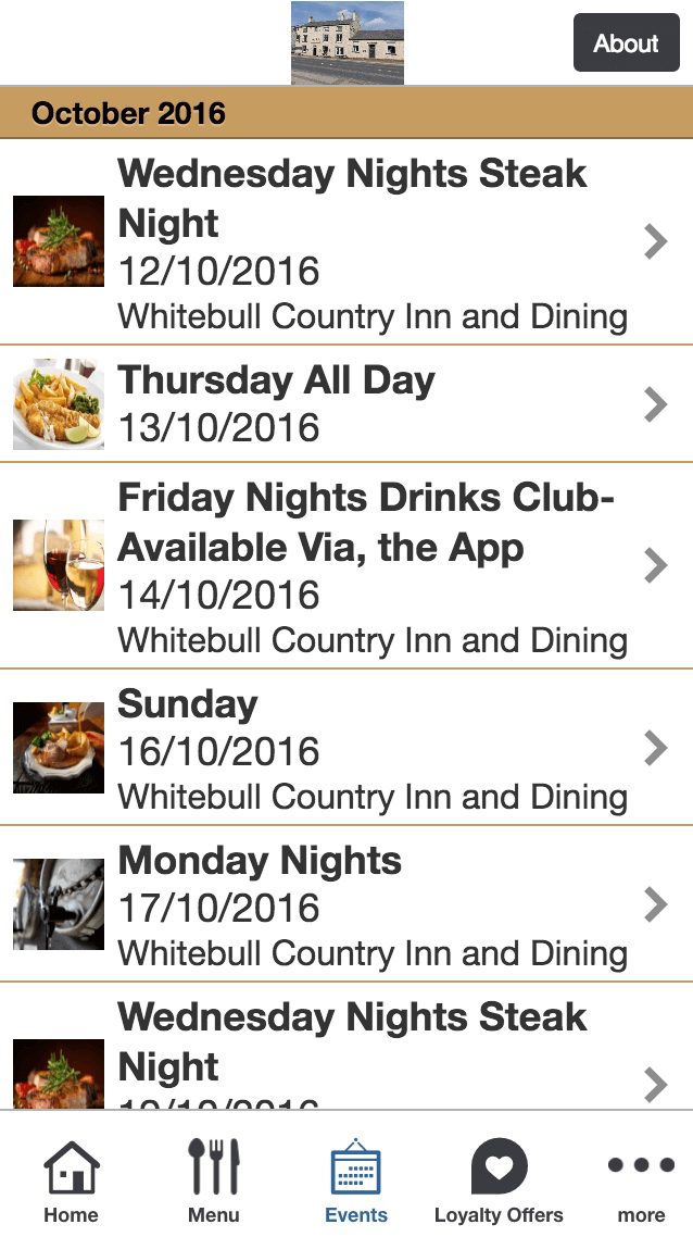 Bookings and Events
