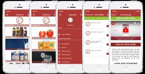 bespoke reordering app