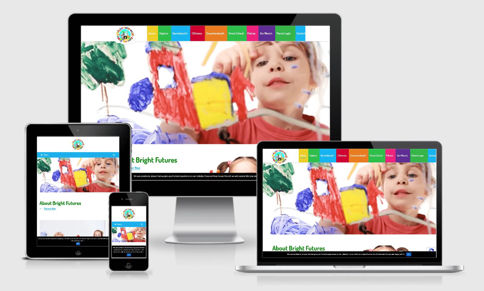 Day Nursery Websites, Preston
