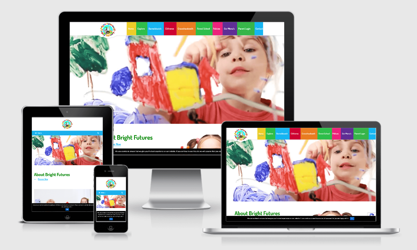 Day Nursery Websites, Preston