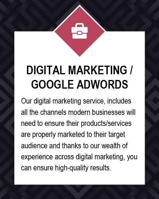 Digital Marketing/Google Adwords Manchester